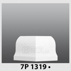 قرنیز کد ( CODE:7P ) به رنگ سفید سوزنی1319