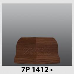 قرنیز کد ( CODE:7P ) به رنگ  گردویی 1412