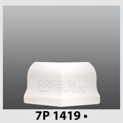 قرنیز کد ( CODE:7P ) به رنگ  سفید صدفی 1419