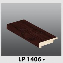 لب پله 6 سانت 16 میل به رنگ ماهگونی 1406