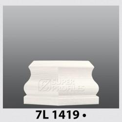 قرنیز کد ( CODE:7L ) به رنگ  سفید صدفی 1419