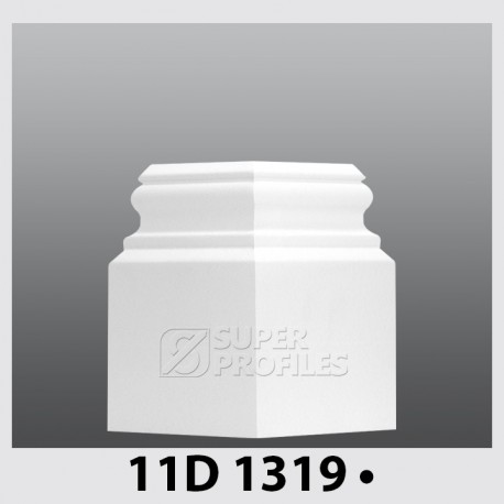 قرنیز کد ( CODE:11D ) به رنک سفید سوزنی 1319