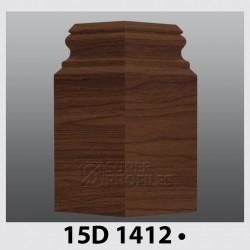 قرنیز کد ( CODE:15D ) به رنگ  گردویی 1412