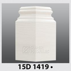 قرنیز کد ( CODE:15D )  به رنگ  سفید صدفی 1419