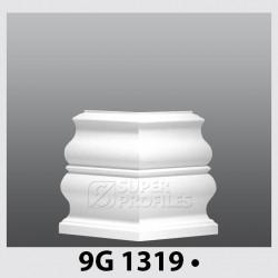 قرنیز کد ( CODE:9G ) به رنگ سفید سوزنی