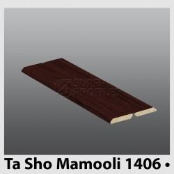 تاشو 4.6 سانت 4 میل به رنگ  ماهگونی 1406