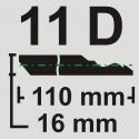 قرنیز 11 سانت به طول 3.66 متر طرح دکووار